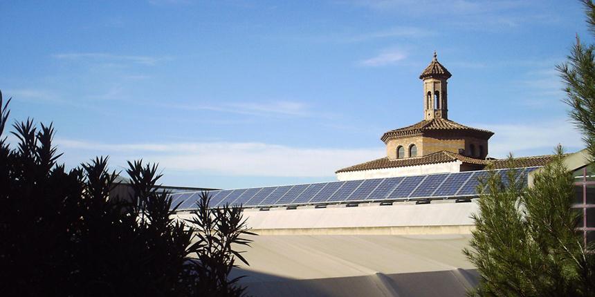GAE Instalación fotovoltaica poble espanyol